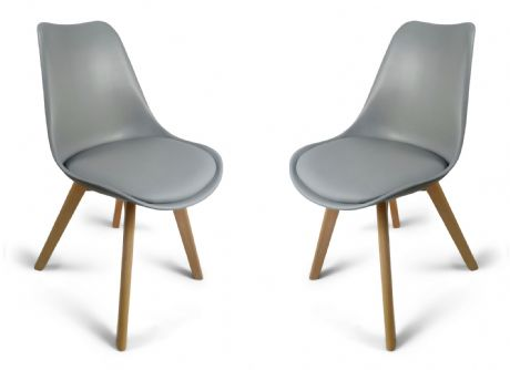 Grey Toulouse Tulip Eiffel Style Dining Chairs Sale Now On Your Price Furniture